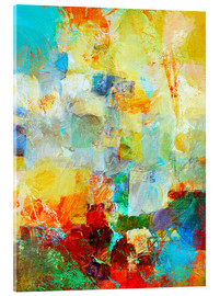 Acrylglasbild  basso continuo! - Wolfgang Rieger
