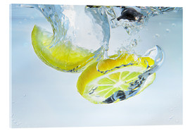 Acrylglas  lemon splash - Silvio Schoisswohl