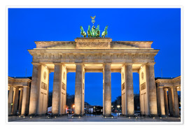Poster  Berlin Brandenburger Tor - Fine Art Images