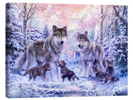 Jan Patrik Krasny - Winter Wolf Familie