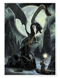Premium-Poster  Der Fels des Drachen - Dragon Chronicles