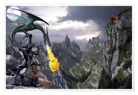Premium-Poster  Böser Drache - Dragon Chronicles