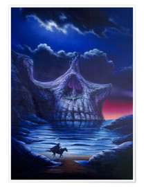 Premium-Poster  Skull point - Garry Walton