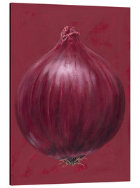Alubild  Red onion - Brian James