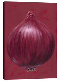 Leinwandbild  Red onion - Brian James