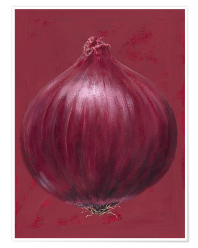 Premium-Poster Red onion