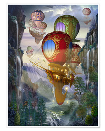 Poster Ballonboote