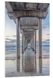 Hartschaumbild  Scripps Pier in La Jolla - Rob Tilley