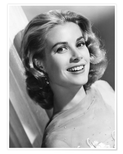 posters affiches de grace kelly posterlounge. Black Bedroom Furniture Sets. Home Design Ideas