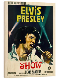Holzbild  Elvis: That's the way it is