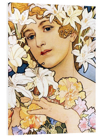 Forex  Blume, Detail I - Alfons Mucha