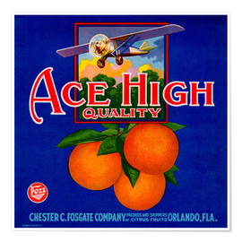 Premium-Poster Ace High Quality