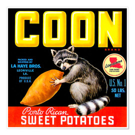 Premium-Poster  Coon - Advertising Collection