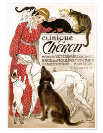 Premium-Poster Clinique Cheron