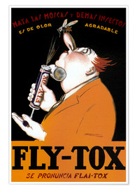 Premium-Poster Fly Tox