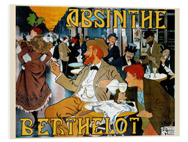 Hartschaumbild  Absinth Berthelot - Henri Thiriet