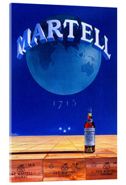 Acrylglasbild  Martell Cognac - Advertising Collection