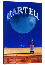 Alubild  Martell Cognac - Advertising Collection