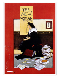 Premium-Poster The new woman by Sydney Grundy