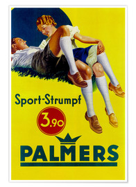 Premium-Poster  Palmers Sport Strumpf - Advertising Collection