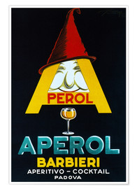 Premium-Poster  Aperol Barbieri - Advertising Collection