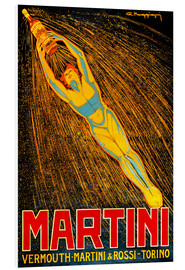Hartschaumbild  Martini Vermouth Martini & Rossi Torino - Advertising Collection