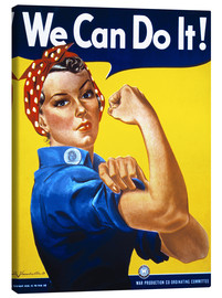 Leinwandbild  We Can Do It! - Advertising Collection