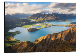 Alubild  Wanaka Mountains - Michael Breitung
