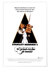 Premium-Poster A Clockwork Orange