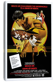 Leinwandbild  Bruce Lee - Mein letzter Kampf (englisch) - Entertainment Collection