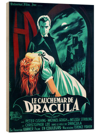 Holzbild  Dracula (französisch) - Entertainment Collection