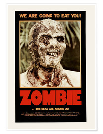 Premium-Poster  Woodoo - Die Schreckensinsel der Zombies (englisch) - Entertainment Collection