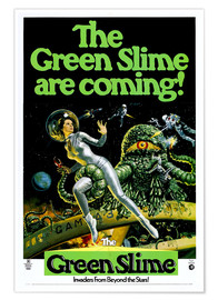 Premium-Poster The Green Slime