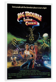 Hartschaumbild  Big Trouble in Little China - Entertainment Collection