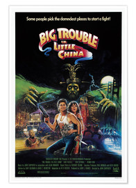 Premium-Poster  Big Trouble in Little China - Entertainment Collection