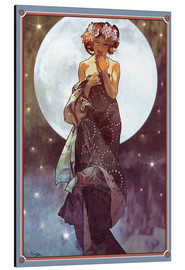 Alubild  Der Vollmond, Adaption - Alfons Mucha