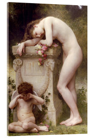 Acrylglasbild  Elegie - William Adolphe Bouguereau
