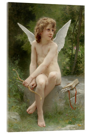 Acrylglasbild  Amor - William Adolphe Bouguereau