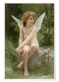 Premium-Poster  Amor - William Adolphe Bouguereau