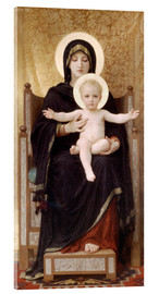 Acrylglasbild  Madonna mit Kind - William Adolphe Bouguereau