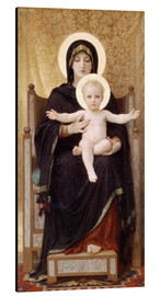 Alubild  Madonna mit Kind - William Adolphe Bouguereau