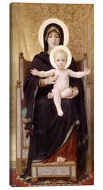 Leinwandbild  Madonna mit Kind - William Adolphe Bouguereau