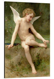 Alu-Dibond  Amor mit dem Dorn - William Adolphe Bouguereau