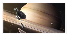 Poster Saturn Flyby
