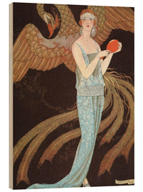 Holzbild  Sortileges - Georges Barbier