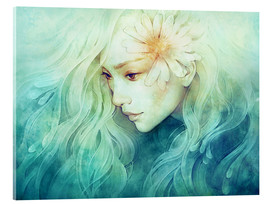 Acrylglasbild  April - Anna Dittmann