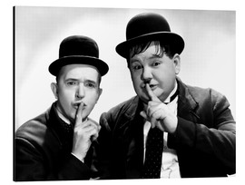 Alubild  Dick & Doof (Laurel & Hardy)