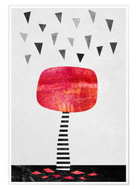 Poster  The Red Tree - Elisabeth Fredriksson