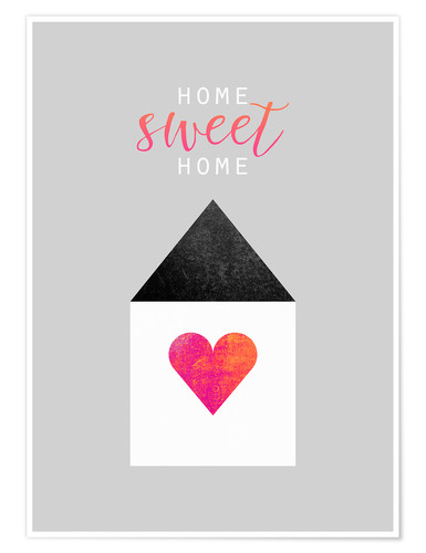 Premium-Poster Home Sweet Home