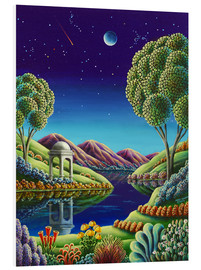 Hartschaumbild  Blue Moon Rising - Andy Russell